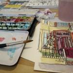 a working studio