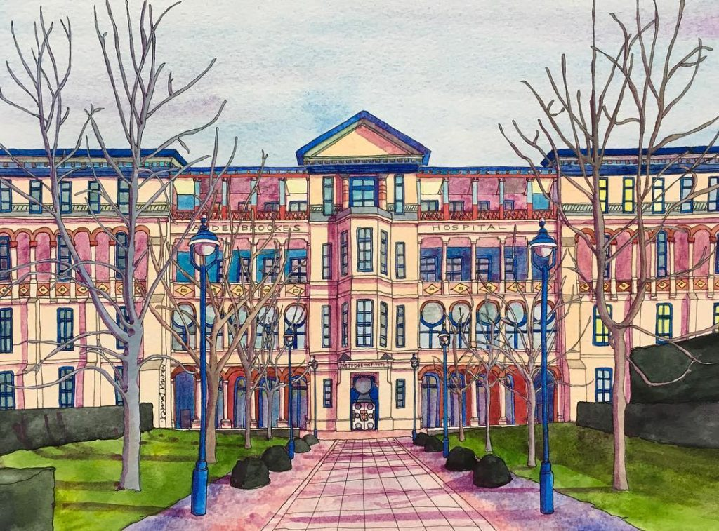 Latest commission of Cambridge Judge Business School CBGTown cambridgeartist cambscreativetreasureshellip