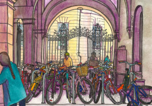 Downing Site bikes