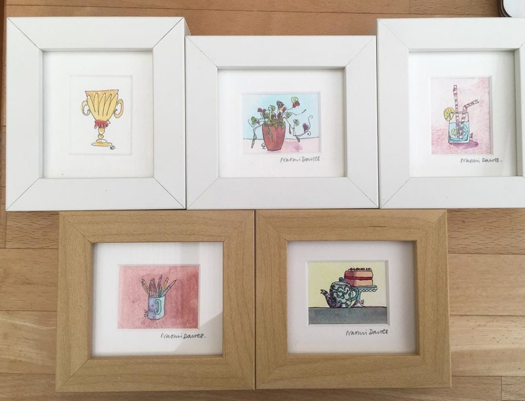 Last few mini originals from my Open Studios 15 eachhellip