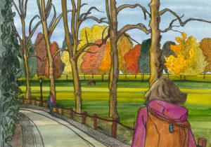 Autumn on The Backs